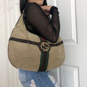 Gucci web Shoulder bag
